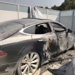 Tesla Model S Caught On Fire At Supercharger Station In Shanghai