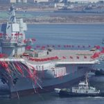 China Launches First Self-Made Aircraft Carrier In Dalian