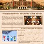Spring Legend Holiday Hotel Winter Season Hot Deal
