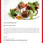 Heart of the Mediterranean at Radisson Blu Pudong Century Park