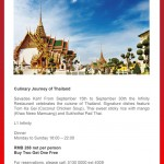 Culinary Journey of Thailand at Radisson Pudong